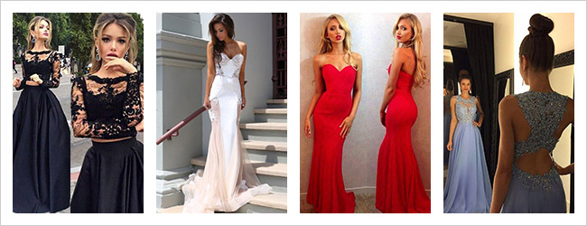 Millybridal Long Prom Dresses